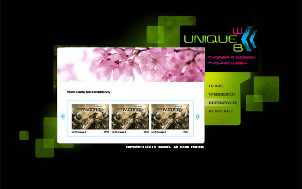 Uniqueb - developing website